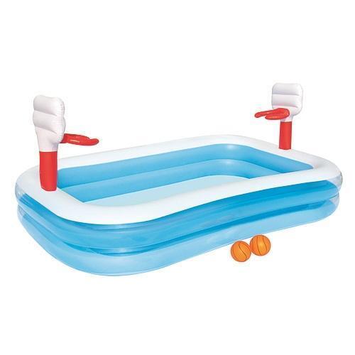 Bazén Bestway® 54122, Basketball, detský, 251x168x102 cm, nafukovací
