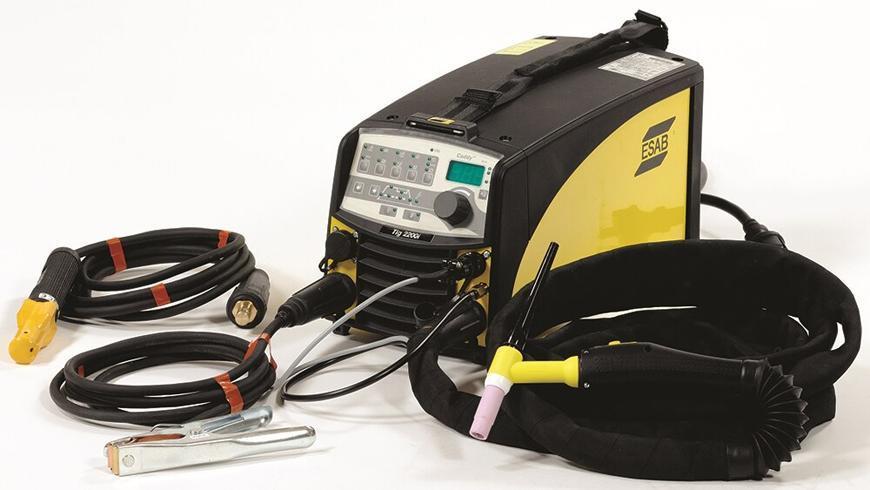Zvaracka ESAB Caddy™ TIG 2200i TA34, DC, TIG/MMA + kable