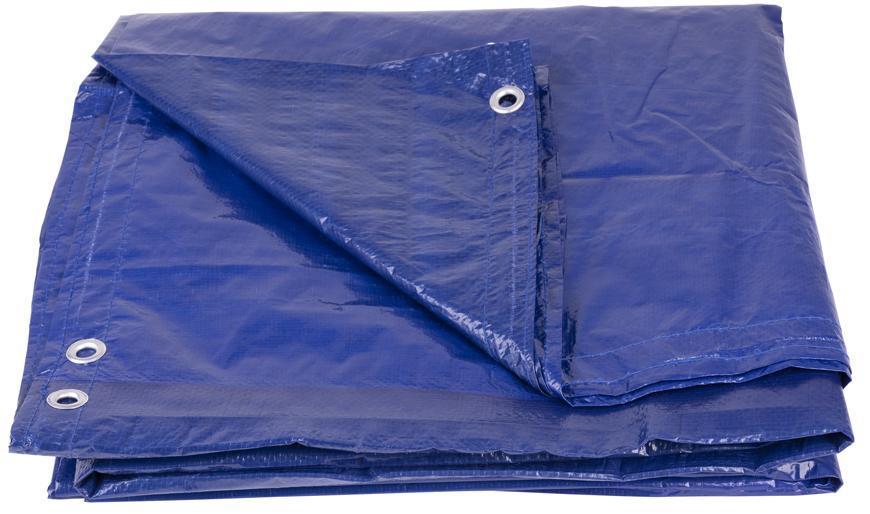 Plachta Tarpaulin Poolco 3,6 m ,120 g/m, zakrývacia, modrá, okrúhla