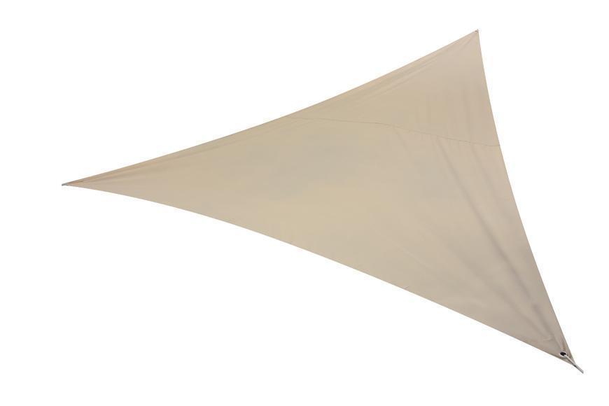 Plachta ROWENA, tieniaca, trojuholníková, 5x5 m, PE