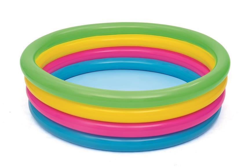 Bazén Bestway® 51117, Rainbow, detský, nafukovací, dúhový, 1,57x0,46 m