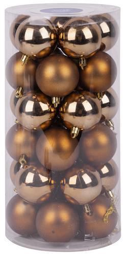 Gule MagicHome XD193, 30 ks, 6 cm, medené, na vianočný stromček