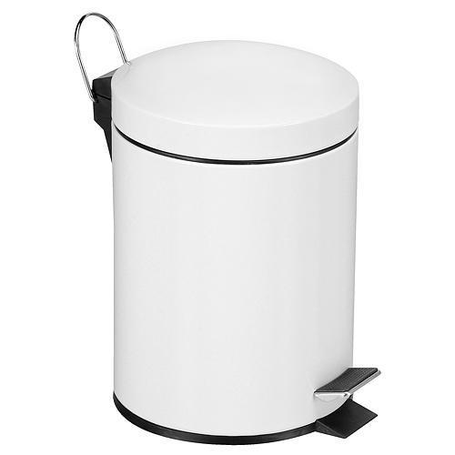 Kos Easyhome PD-19 03 lit, biely, s pedálom, na odpad