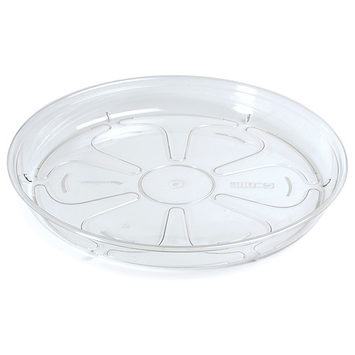 Podložka pod kvetináč COUBI PPC120, okrúhla, transparentná, 120 mm