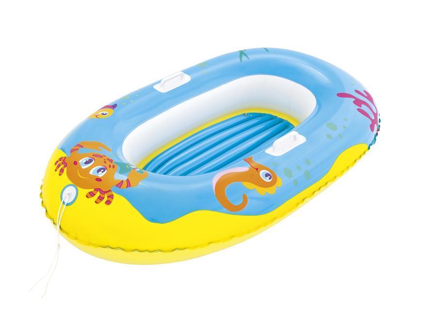 Čln Bestway® 34009, Happy Crustacean, detský, nafukovací, 1,19x0,79 m