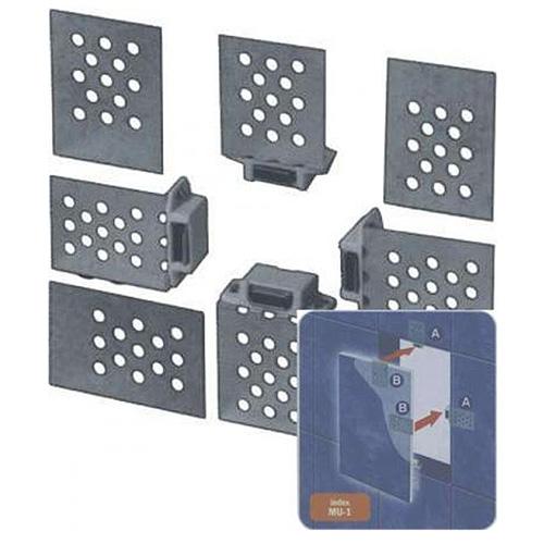 Magnety na revízne dvierka Awenta MU1, 7 mm, Zn, nastaviteľné
