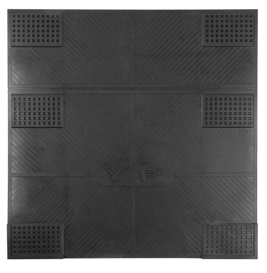 Rohozka MagicHome RBR 215, Anti-vibration, 61x61 cm, guma