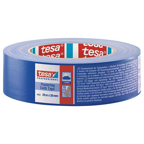 Páska tesa® PRO Plastering, omietacia, fasádna, modrá, UV, 38 mm, L-25 m