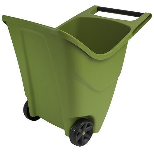 Vozík Load & Go II, zelený, na záhradný odpad