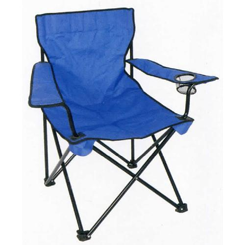 Stolička Strend Pro BC2012B, skladacia, modrá, 53x53x90 cm, 120 kg