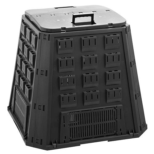 Komposter EVOBLACK, 420 lit, čierny