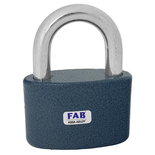 Zámok FAB 30H/63 mm, visiaci, 3 kľúče, Hardened