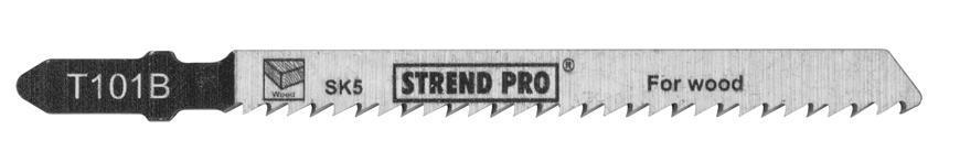 List do priamočiarej píly Strend Pro T101B 100 mm, 10z, na drevo, bal. 5 ks