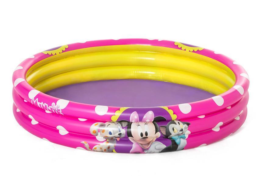Bazénik Bestway® 91079, Minnie, detský, nafukovací, 1,22x0,25 m