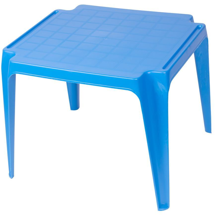 Stôl TAVOLO BABY Blue, modrý, detský 55x50x44 cm