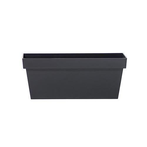 Kvetináč CUBE CASE DCUC400, antracit, 392x182x160 mm