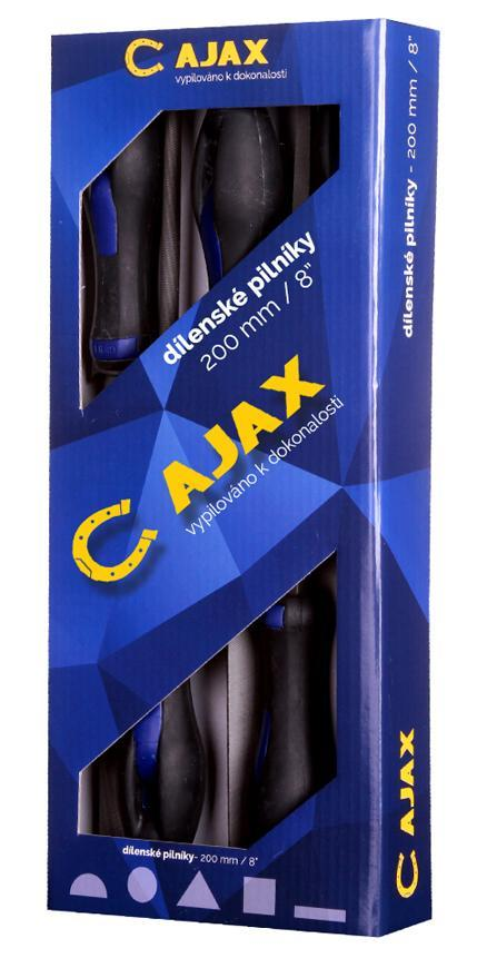 Sada pilnik Ajax 286.211-92 150/2, 5 dielna, dielenská