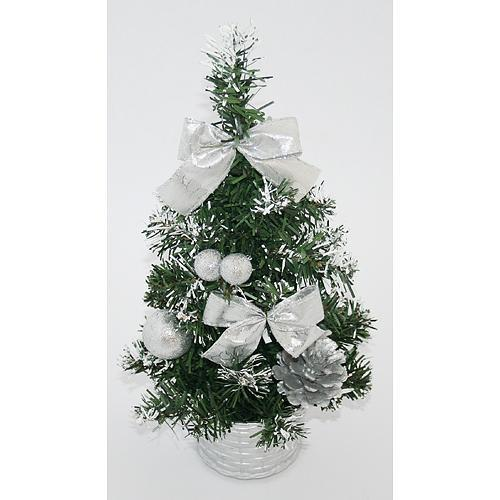 Stromcek MagicHome Xm5276S, 30 cm, pine, silver