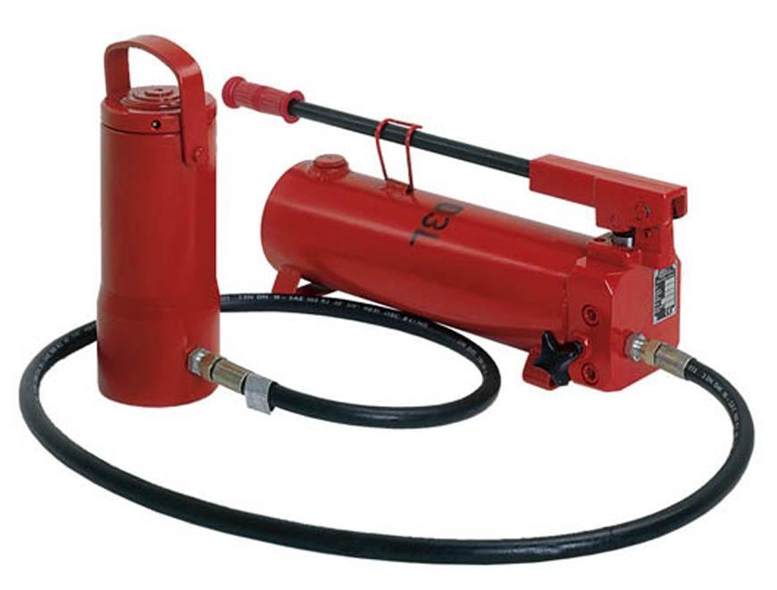 Valec Brano Z 321 200t, hydraulicky
