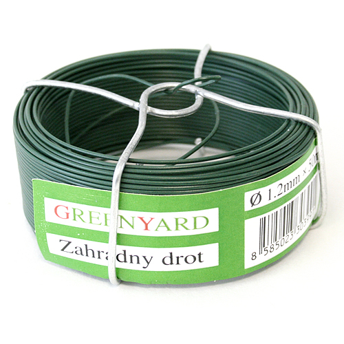 Drot Garden Wire Pvc 1,60 mm, L-50 m, SC, cievka