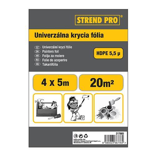 Fólia Strend Pro maliarska, Hobby 4x12,5 m, 5,5µ, zakrývacia