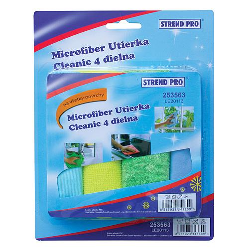 Utierka Cleonix DC0113, Microfiber, 4 dielna