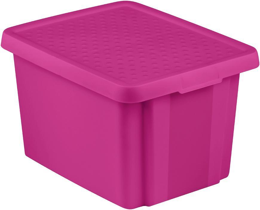 Box Curver® ESSENTIALS 26L+LID, ružový