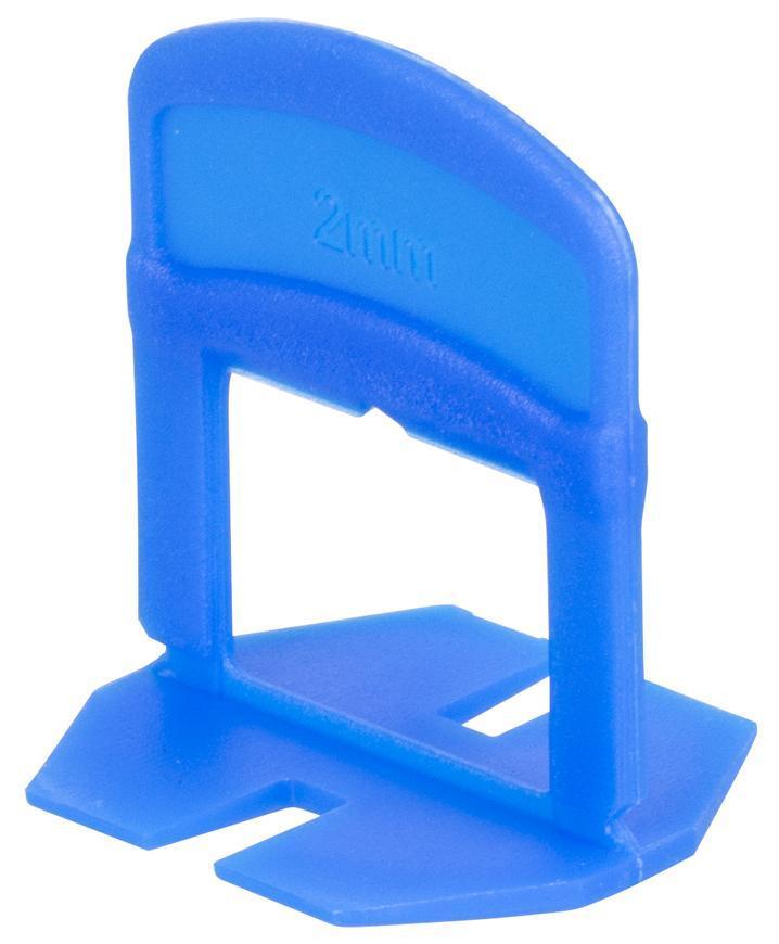 Medzerník Strend Pro LS230T, nivelačný, pod obklad, 2.0 mm, bal. 300 ks, plast modrý
