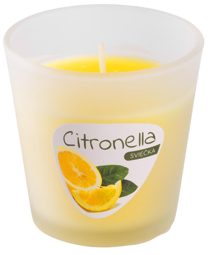 Sviecka Citronella CG144, 80 g, pohár