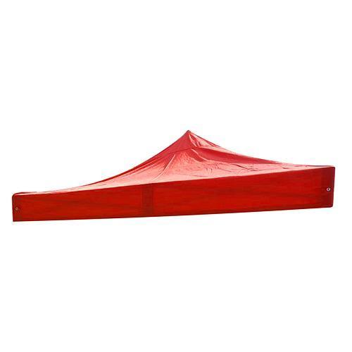 Plátno MONTGOMERY, červené, na strechu