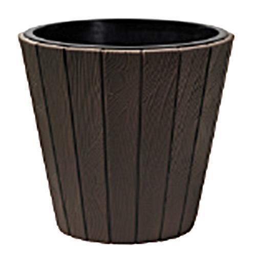 Kvetináč WOODE 490, 54 lit, hnedý, vložka