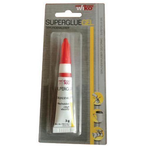 Lepidlo Wiko® SUPER GEL, SGG.T3  3 g, sekundove, blister