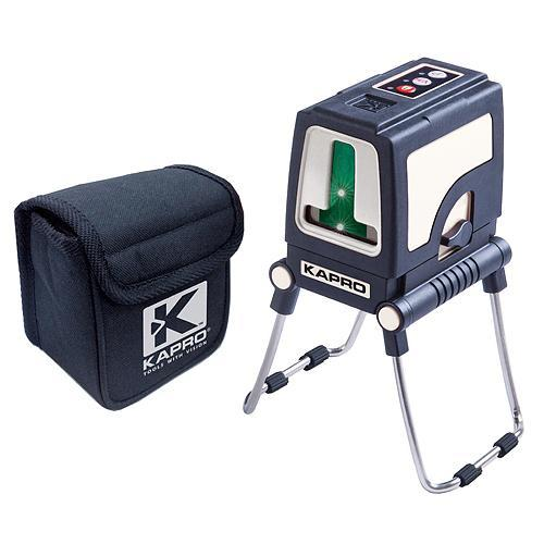 Laser KAPRO® 872GS Prolaser® Plus, Cross, GreenBeam, so statívom