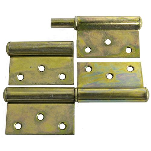Záves dverový T0018A • 080x45x1.5 mm, Yzn