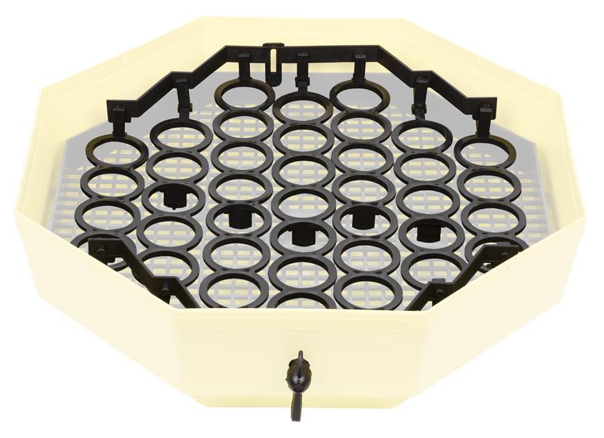 System CLEO IPEE-G, na otáčanie, kuracie vajcia