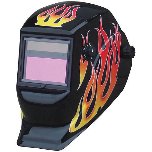 Kukla zváračská Galaxy RedFlame, AutoDark, samostmievacia, 2 senzorová