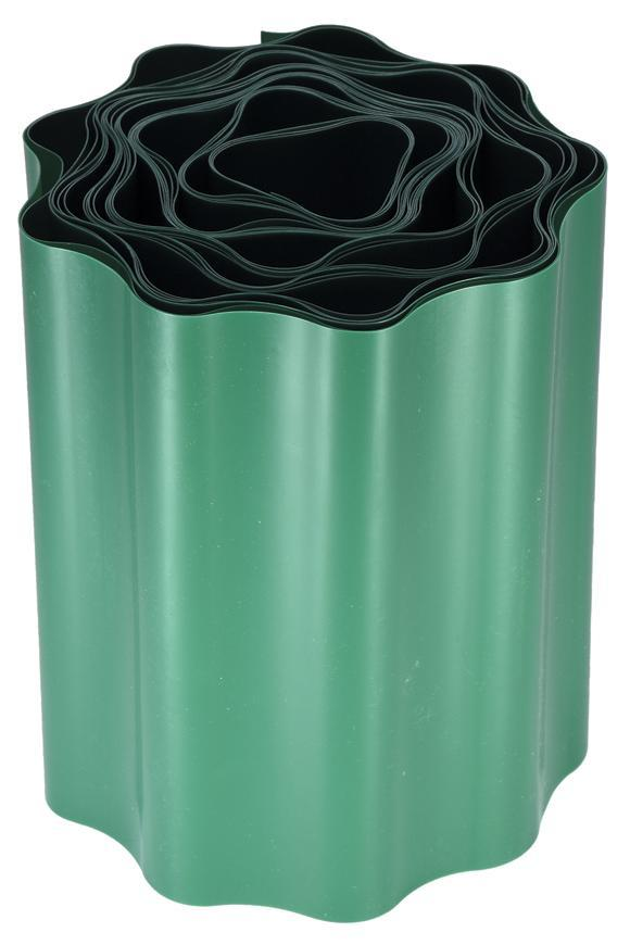 Lem trávnikový 100 mm, L-9 m, zelený