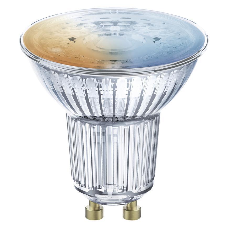 Ziarovka LEDVANCE® SMART+ WIFI 050 (ean5679) dim - stmievateľná, GU10, 2700K-6500K, PAR16
