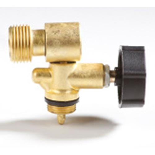 Plynový ventil Meva 2156UVB, LPG, jednocestný regulátor, závit W21.8 L, bočný