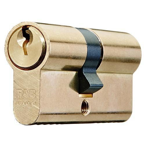 Vlozka cylindrická FAB 50D/30+30, 3 kľúče, stavebná