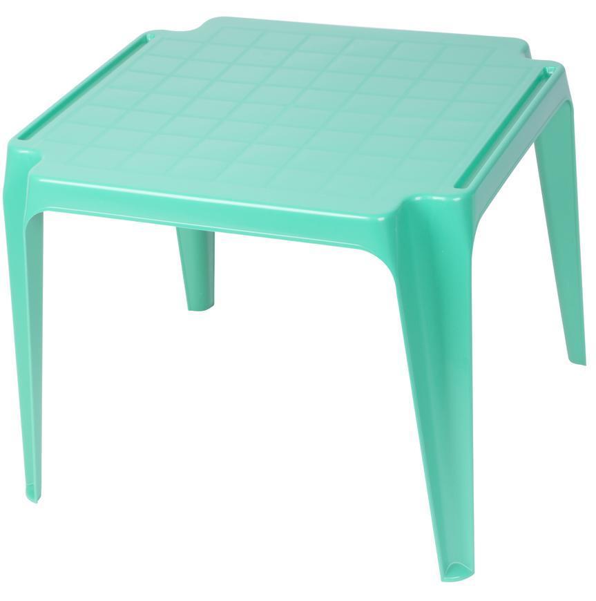 Stôl TAVOLO BABY Green, zelený, detský 55x50x44 cm