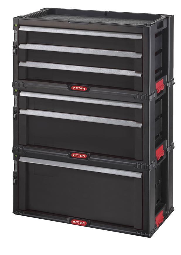 Box Keter® 17201228, TOOL CHEST SET, 6 zásuviek, 56x75x29 cm, na náradie