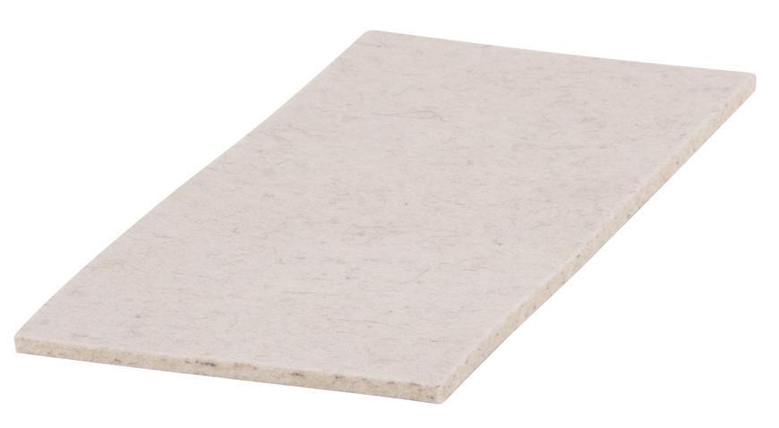 Plsť na hladítko MA3145 270x130x05 mm,náhradná, biela