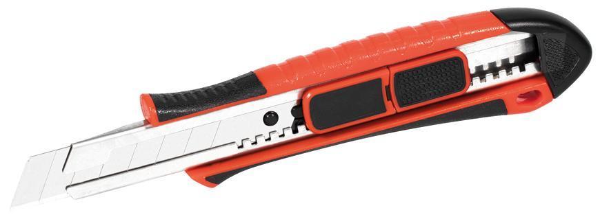 Nôž Strend Pro UK291, 18 mm, odlamovací, plastový