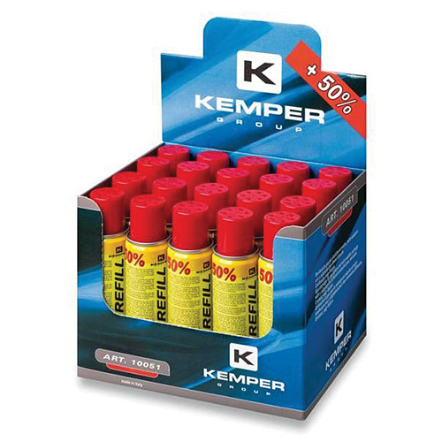 Plyn KEMPER 10051, 150 ml, 90 g, Bután, na plnenie