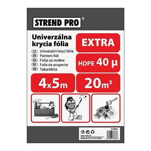 Fólia Strend Pro maliarska, Extra 4x05,0 m, 40µ, zakrývacia
