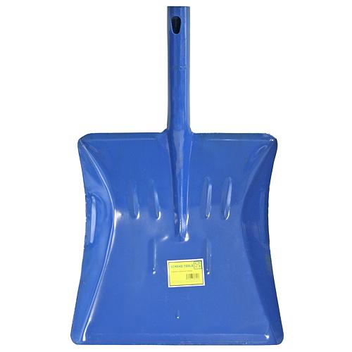 Lopatka na smetie S532M, kovová, modrá