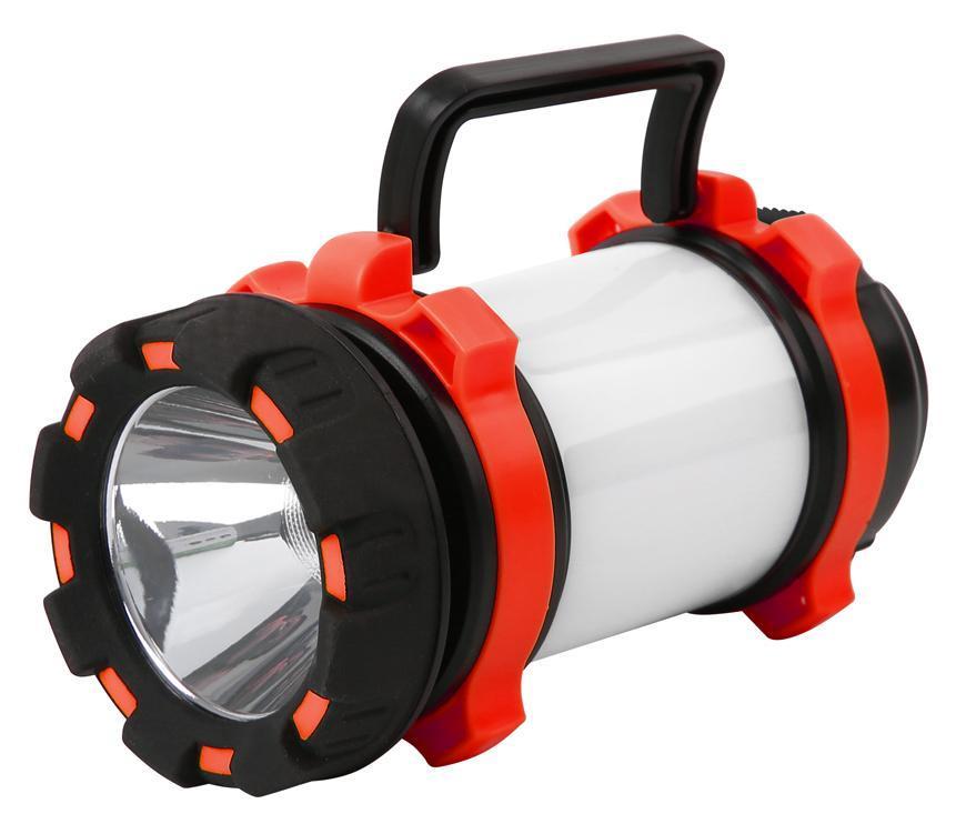 Svietidlo Strend Pro Spotlight SLR135, LED SMD 200 lm, OPAL 260 lm, 2x1800mAh, USB nabíjanie