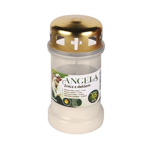 Napln bolsius Angela 36HD biela, 35 h, 148 g, olej