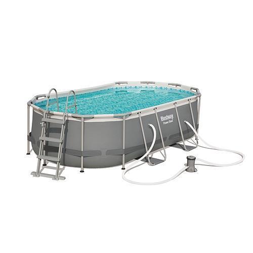 Bazén Bestway® Power Steel™, 427x250x100 cm, filter, pumpa, rebrík